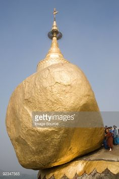 Foto de stock : Kyaiktiyo pagoda on golden rock