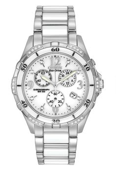 Citizen Citizen Eco-Drive  CERAMIC FB1230-50A Ceramic - A Wee bit more expensive than the other one, though I am not sure that means I like it better.