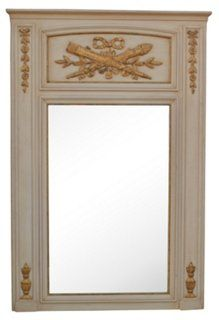 French-Style Trumeau Mirror