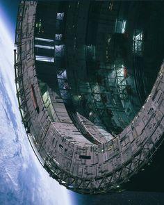 Stream Daily Drop - Third Millennium by Jess Coble from desktop or your mobile device Spaceship Art, Spaceship Design, Spaceship Concept, Cyberpunk, Arte Sci Fi, 70s Sci Fi Art, Sci Fi Models, Steampunk, Futuristic Art