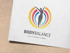 Ad: Body Balance Logo by IKarGraphics on Fitness and wellness vector logo design. Body balance A fully editable and resizable vector logo Formats: AI - Adobe Illustrator (CC / CS). Vector Logo Design, Best Logo Design, Graphic Design, Beauty Logo, Logo Templates, Design Templates, Fitness Logo, Creative Sketches, Pencil Illustration