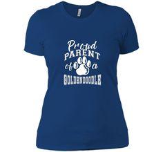Proud Parent of a Goldendoodle Dog Lover T-shirt shirt