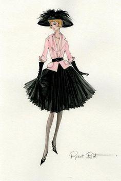 Barbie Illustration - Silkstone by Robert Best