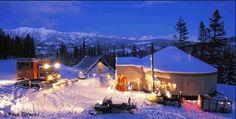 Montana Dinner Yurt in Big Sky, Montana