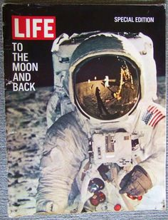 Life Magazine Man on the Moon special edition, 1969.