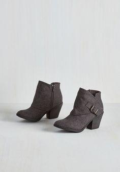 Boots & Booties - DTLA it on Me Booties in Grey