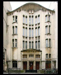 Architecte: Hector Guimard [1867-1942].Synagogue de la rue Pavée - Paris