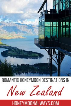 Where To Honeymoon in New ZealandNew Zealand is full of amazing spot for a romantic getaway or honeymoon. You can find fun exploring a city, have an adventure discovering Hobitton, relax on the beach or spend time discovering the many natural wonder Romantic Honeymoon Destinations, Honeymoon Style, Honeymoon Planning, Romantic Vacations, Romantic Getaways, Romantic Travel, Amazing Destinations, Honeymoon Ideas, Travel Destinations