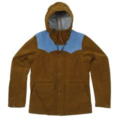 VISVIM HADRIAN 3L GORE-TEX JACKET (LIGHT BROWN) | bought: endclothing.co.uk | July 2012