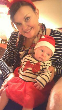 Christmas 2016, t-shirt dress with tutu, children's place