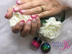 https://flic.kr/p/FGngjU | Gelnagels | Brisa French Haute Pink en Twinkle Pink