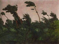 Félix Vallotton The Wind, 1910
