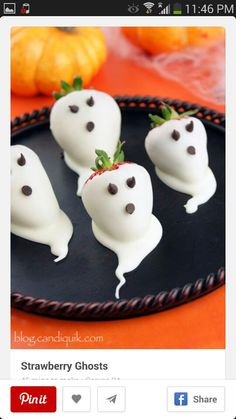 Strawberry Ghosts...♡♥♡♥Love it!