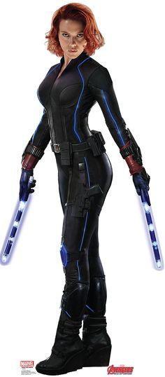 Black Widow: Introducing the new shocky-shock sticks!