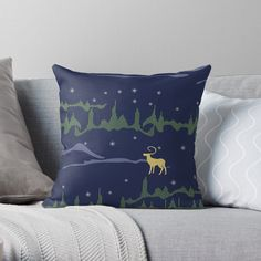 Designer Throw Pillows, Pillow Design, Top Artists, Northern Lights, My Arts, Vibrant, Art Prints, Printed, Awesome