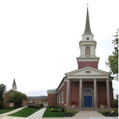 worthington, ohio- Church I sang in. Church I grew up in.  Church I got married in. Church I began my walk with Him in!