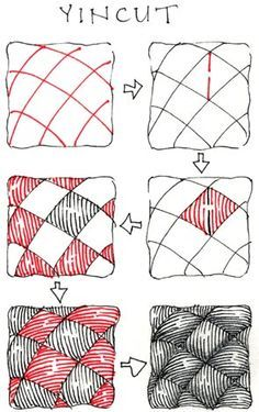 See all the completed Weekly Zentangle® Tangle Videos here. Tangle for May 9 - Official Zentangle tangle BB I love BB for its sim Doodles Zentangles, Tangle Doodle, Tangle Art, Zentangle Drawings, Zen Doodle, Doodle Drawings, Doodle Art, Doodle Patterns, Zentangle Patterns