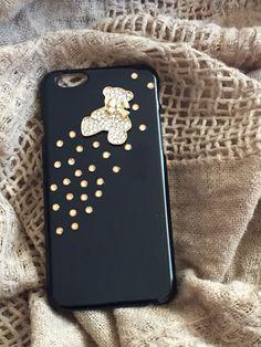 my gold lady deco phone case for iphone 6 por myladiesandme en Etsy