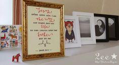#Calligraphy #캘리그라피 #캘리 #손글씨 #펜글씨 #성경구절 #요한복음 #캘리그라피액자 #액자 #영문캘리그라피 #john #Jesus #Father #bible #bibleverse #frame