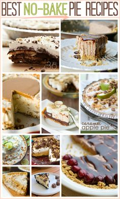 Thanksgiving is almost here and I've been looking for some new delicious pie recipes for our Thanksgiving dinner. If you are in charge of bringing dessert this year this is the post you have been waiting for. That's right my friend I got you covered, check out these No-Bake Pie Recipes...