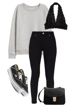 """""""#213"""" by mintgreenb on Polyvore featuring H&M, Ted Baker, Vans and MANGO"""