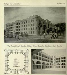 The Citadel Military College Barracks