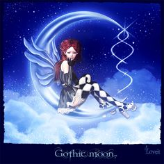 Gothic Moon By Loveit On DeviantArt.
