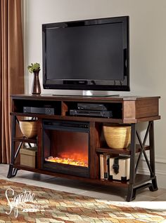 22 Best Tv Stands Images Ashley Furniture Industries Fireplace