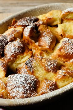 This recipe is proof-positive that leftover bread can easily be converted to dessert without much work. <br/><br/>There's room for customization here: consider adding fresh or dried fruit or a combination of spices like cinnamon, nutmeg, allspice and cardamom. Simple Bread Pudding - NYT Cooking