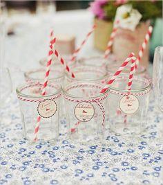 striped wedding straws photographer http://www.elodieciriani.com/