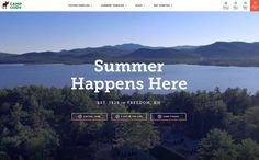 The best of web design and web design inspiration - updated regularly with new designs and web designers, and featuring the best Wordpress Themes. Web Design Inspiration, Design Ideas, Best Wordpress Themes, Get Started, Cool Designs, Website