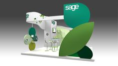 We have been working with Sage on a wide range of projects during our relationship, but few as rewarding as the bespoke exhibition design & build for the 'Accountex' Show at Olympia in London.