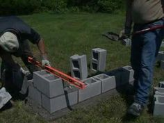 How to Lay Concrete Blocks. While some might find laying concrete blocks down an easy task, it can be overwhelming for beginners. It requires time and a good bit of supplies. If this is your first time, plan the task out with a friend. It...