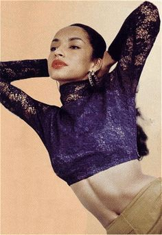 Whistles Muse: Fresh out of Central Saint Martins, Sade Adu developed her own menswear line before naturally her talent took her to music.