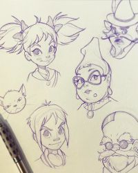 """I saw the Japanese version of """"Mary and the Witch's Flower"""" last night and really enjoyed it. Just wanted to draw some of the characte. Mary and the Witchs Flower Sketches Character Drawing, Flower Sketches, Drawings, Character Art, Character Design, Character Sketches, Sketches, Sketchbook Drawings, Character Design Animation"""