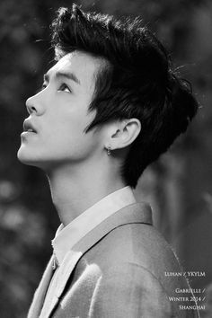《fyeah!luhan》| idc if i repin it but his face, his jawline *-*