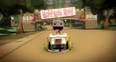 Sackboy toma el volante en LittleBigPlanet Karting para PS3