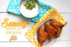 Samosy recept Savoury Baking, Samos, Ravioli, Snack Recipes, Ethnic Recipes, Food, Snack Mix Recipes, Appetizer Recipes, Meals
