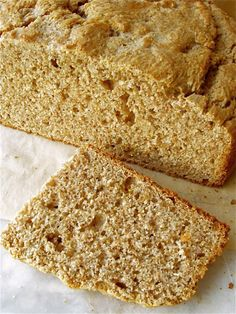 "Irish Buttermilk Brown Bread, our take on Ireland's everyday ""wholemeal"" bread. We've ""Americanized"" our version with a touch of sugar and a butter-brushed crust."