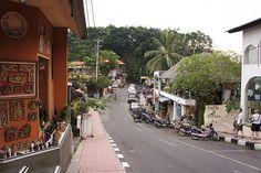 Bali, Ubud, monkey street  coffee n silver
