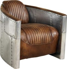 Aviator chair: I saw this at a local store here in Portland and thought that it was totally awesome!
