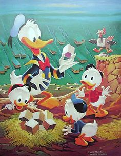 Donald Duck - Lost in the Andes by Carl Barks