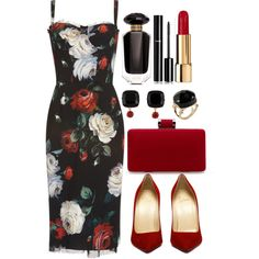 A fashion look from March 2017 featuring Dolce&Gabbana dresses, Les Néréides earrings и ALDO rings. Browse and shop related looks.