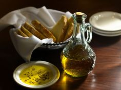 Herb-Olive Oil dip ~ Carrabba's Blog. You must use fresh herbs if you want it to taste like authentic recipe!