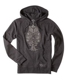 Night Black French Terry Zippity Hoodie | zulily