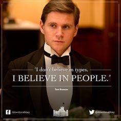 I don't believe in types, I believe in people.