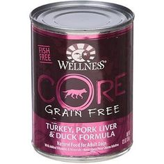 Wellness Core Dog Turkey Duck (12x12.5Oz)