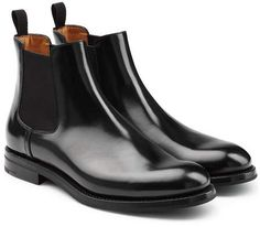 Church's Patent Leather Chelsea Boots