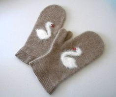 great reuse of a cashmere sweater...more in their shop.