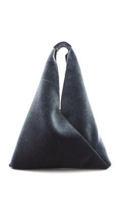 Felt Shoulder Bag : Maison Martin Margiela RePinned by RainyDayEmbrdry www.etsy.com/...